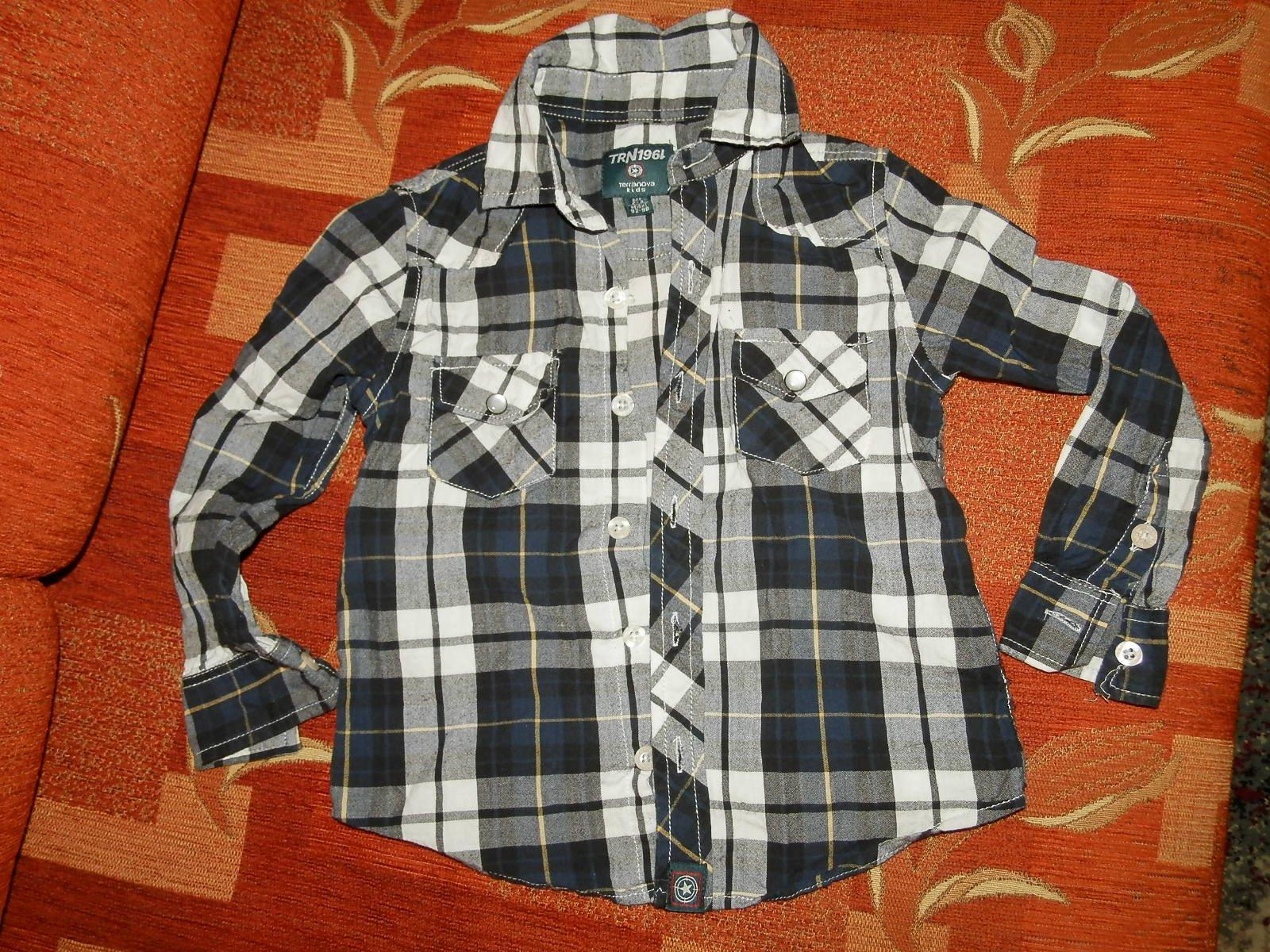Terranova košeľa 2-3r. - Obrázok č. 1