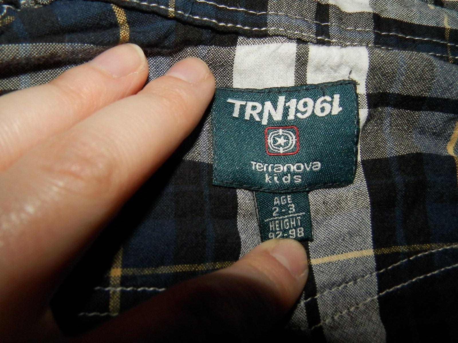 Terranova košeľa 2-3r. - Obrázok č. 3