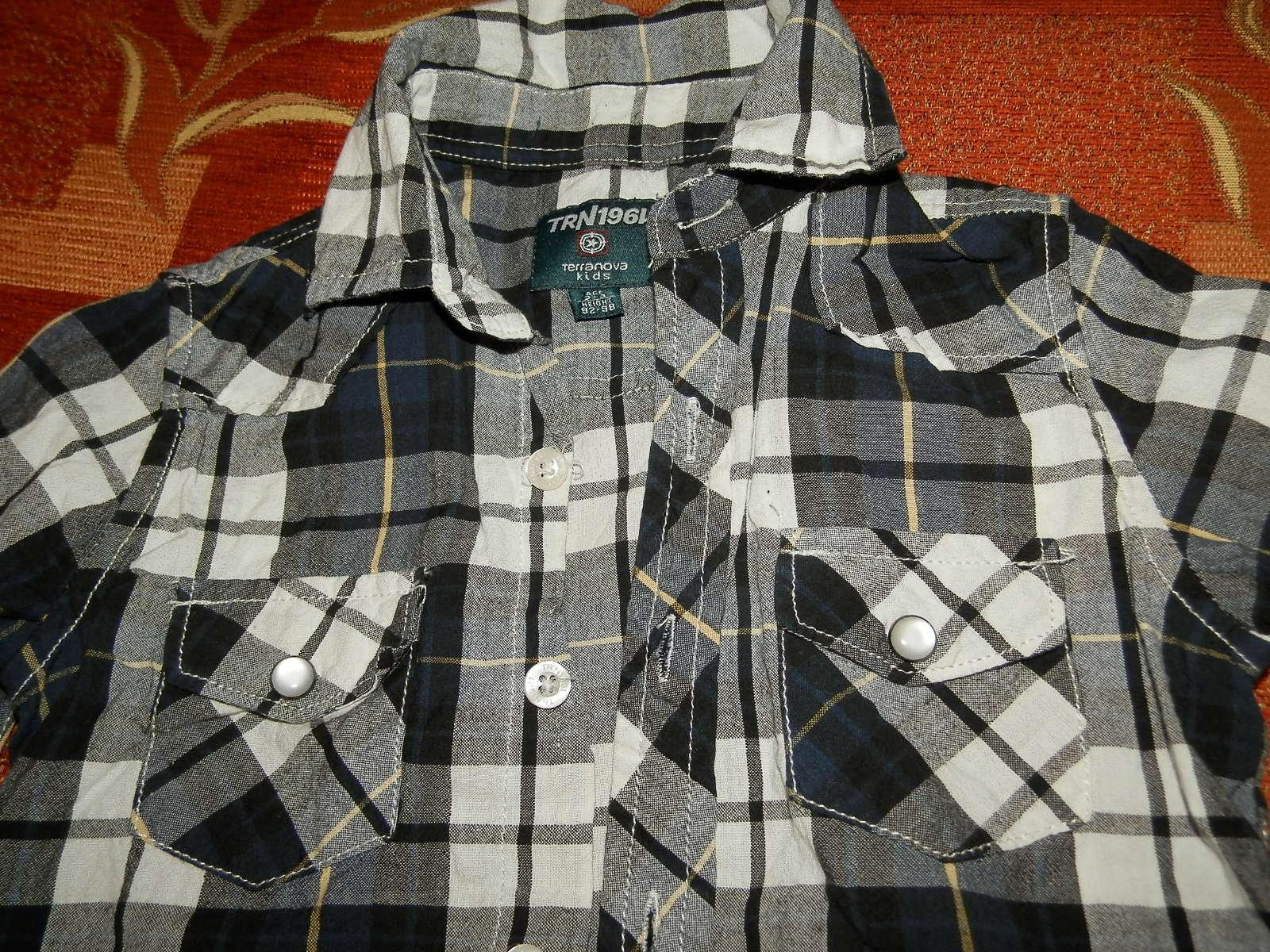 Terranova košeľa 2-3r. - Obrázok č. 4