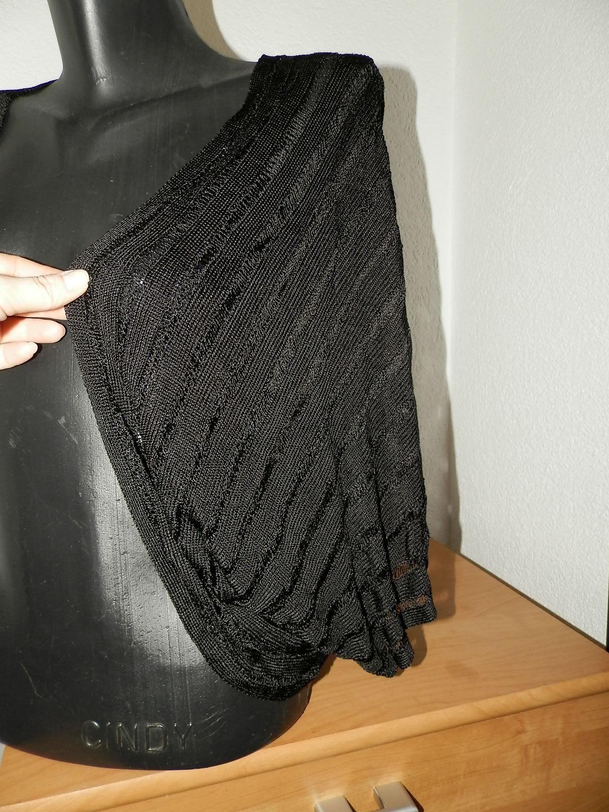 čierne bolerko - Obrázok č. 3