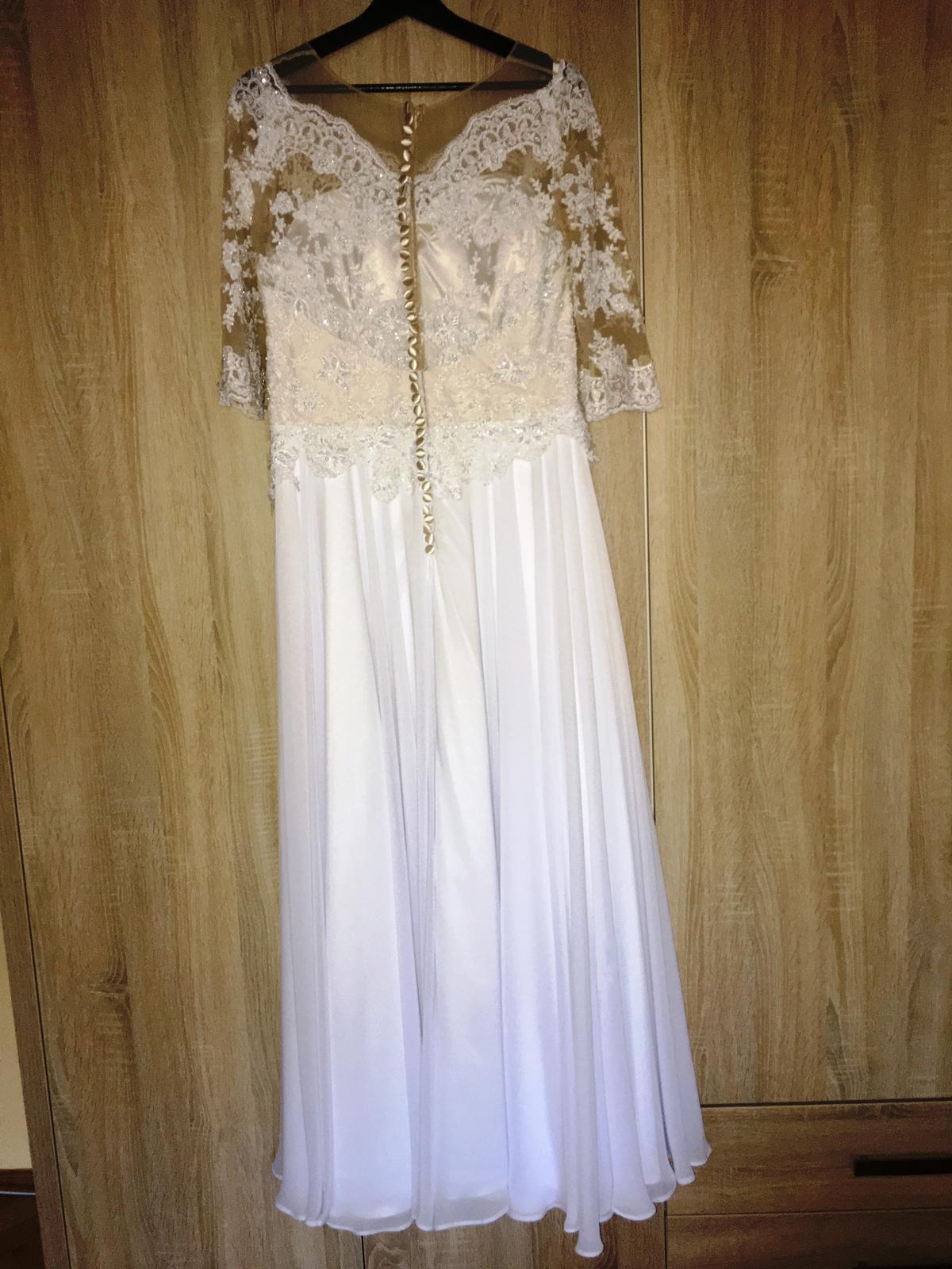 Svadobné šaty 42 - Obrázok č. 3