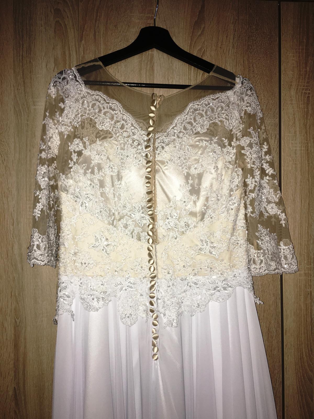 Svadobné šaty 42 - Obrázok č. 4