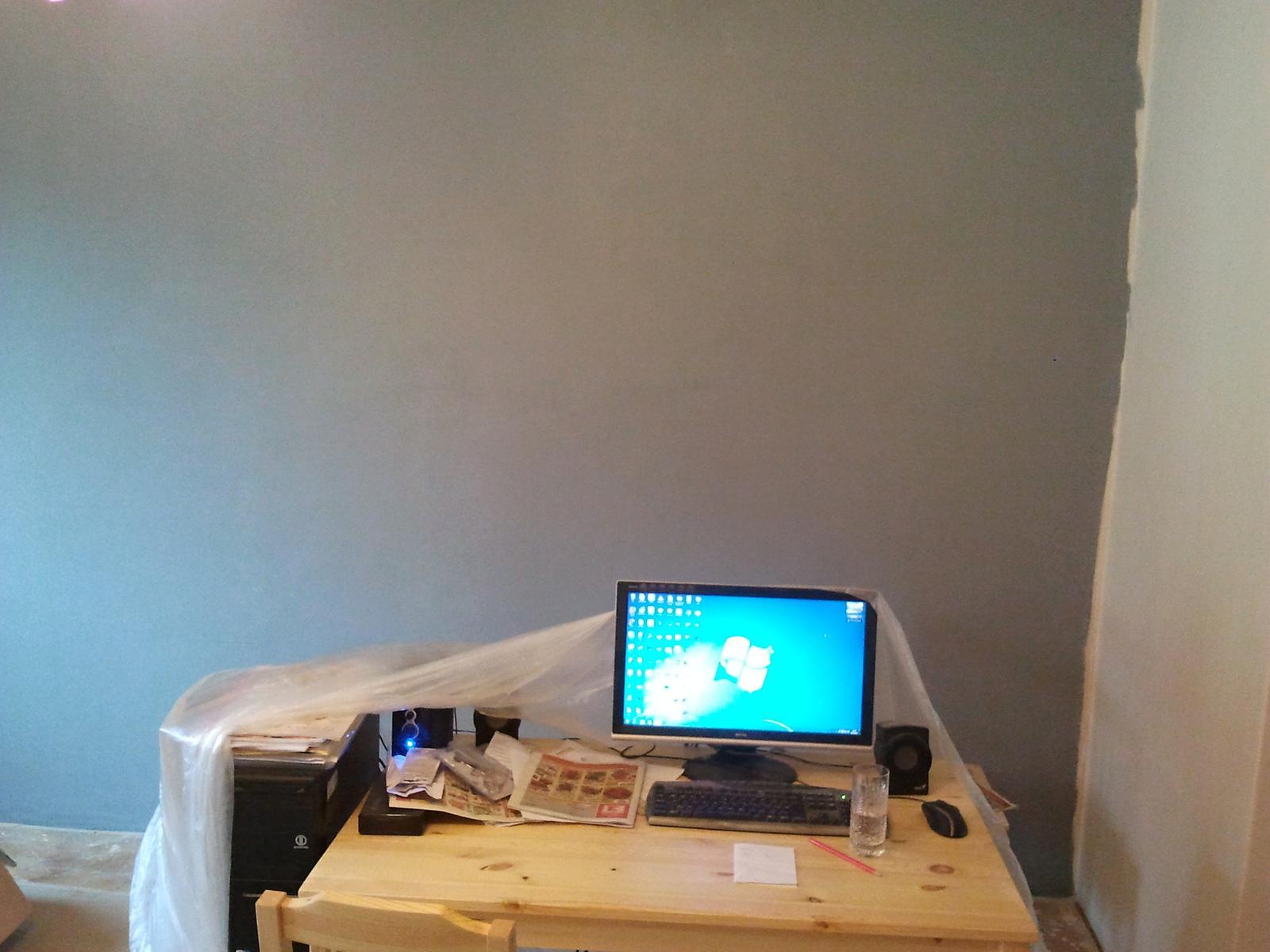 Práce v plném proudu - První vrstva :)
