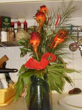 zásnubní kytička
