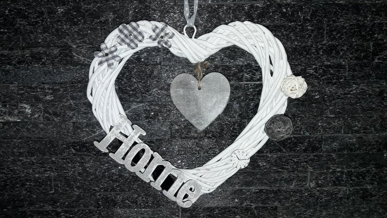 Bytové doplnky - srdce Home - Obrázok č. 1