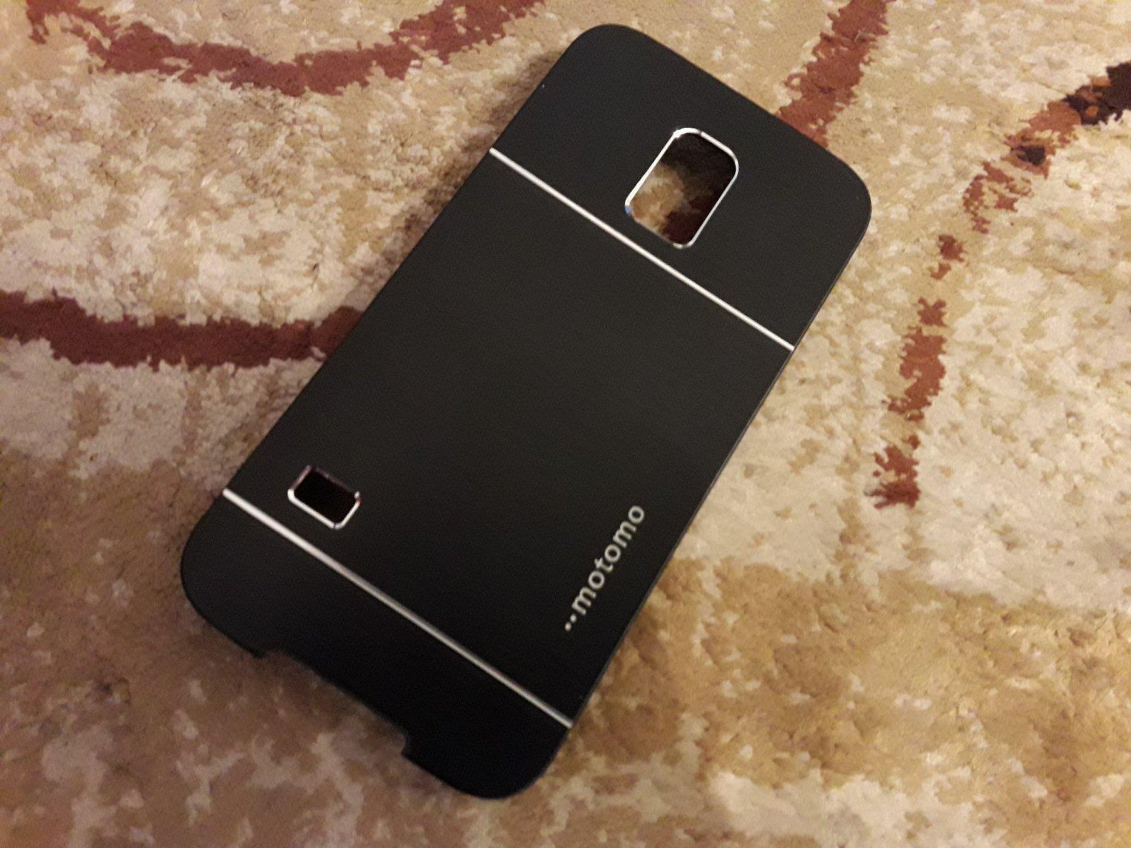 Kryt na Samsung S5 - čierny - Obrázok č. 2