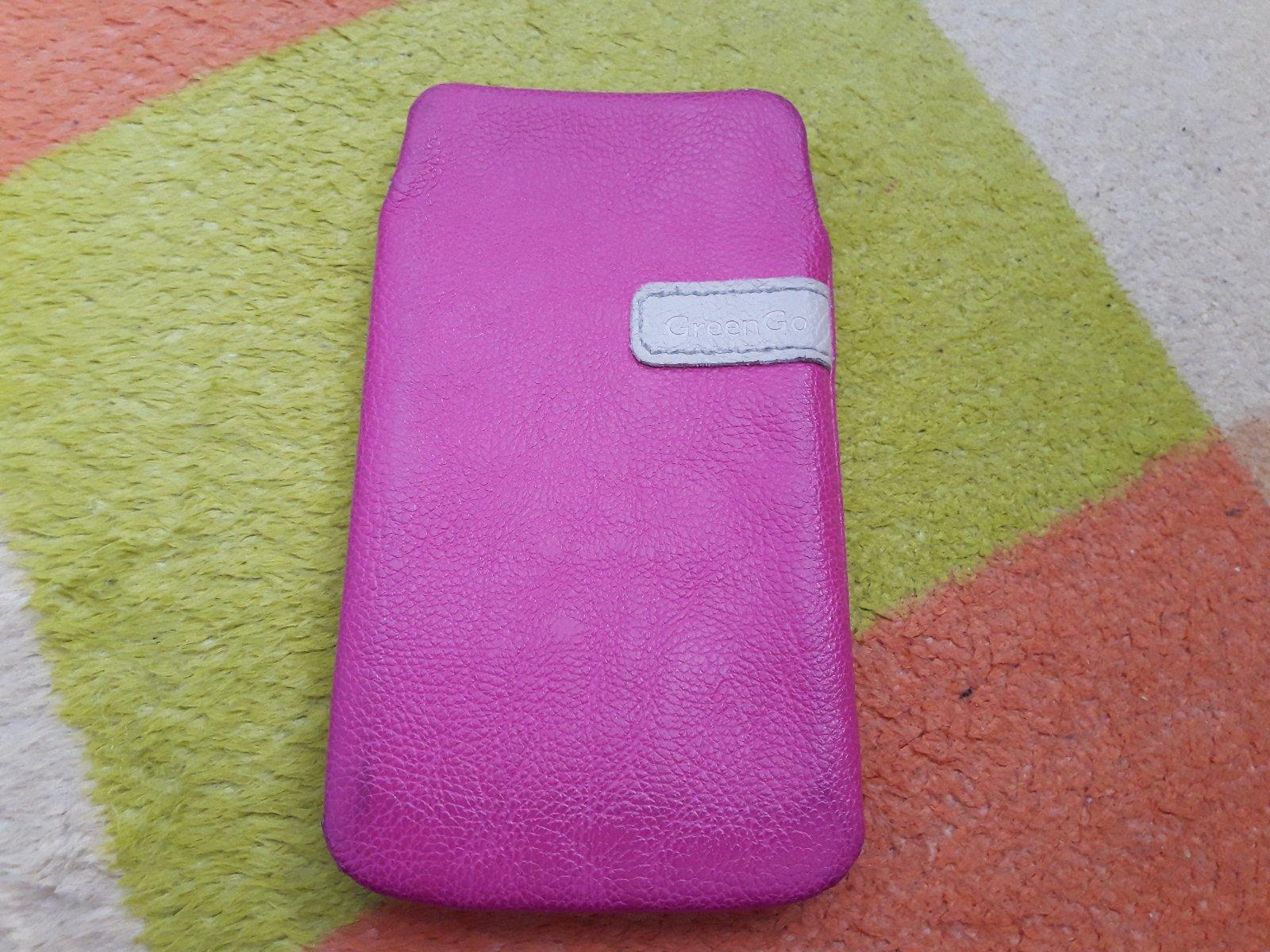 Ružové puzdro na mobil - pink - Obrázok č. 1