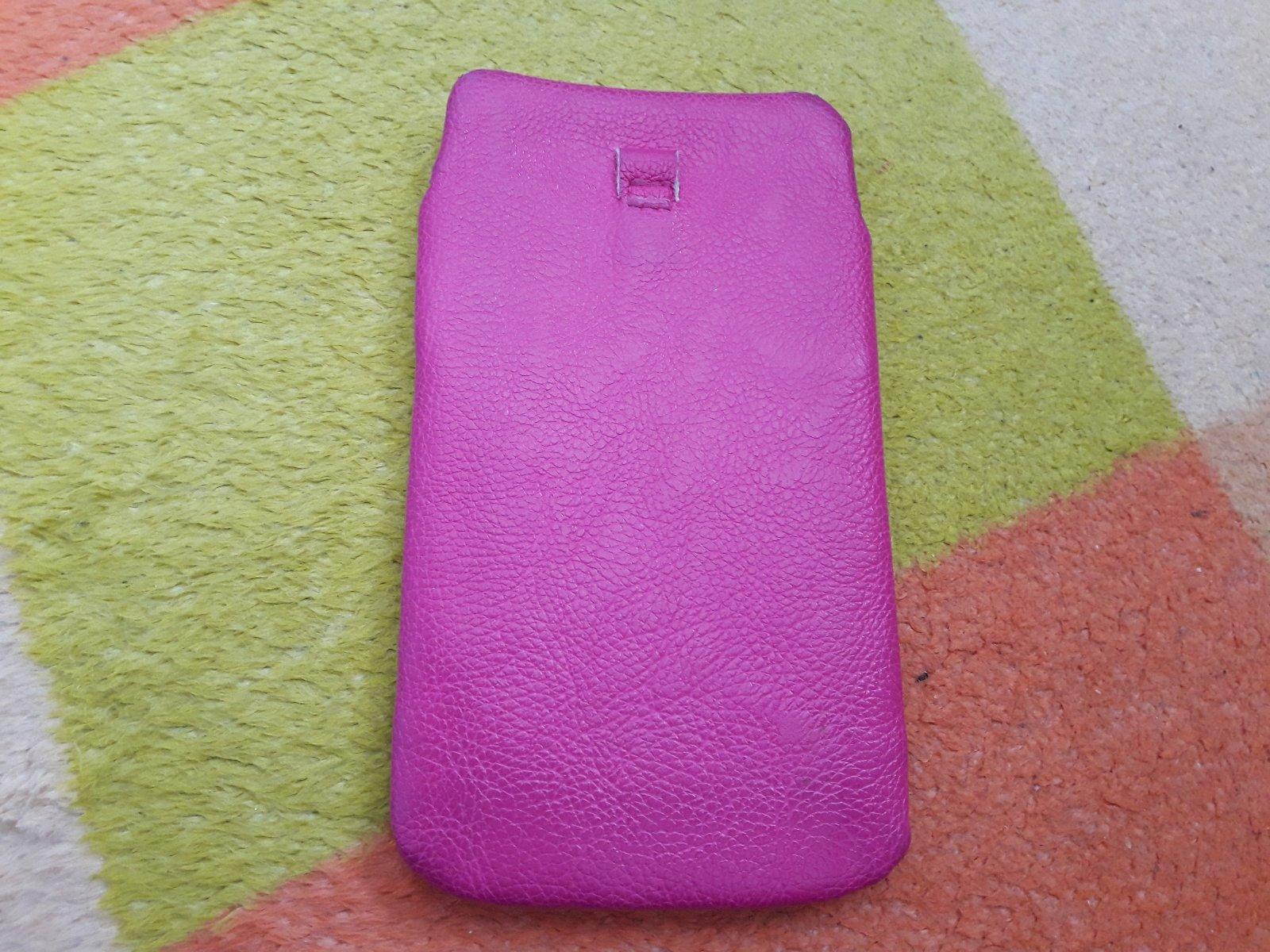 Ružové puzdro na mobil - pink - Obrázok č. 2