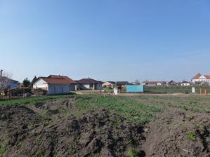 Pozemek má velikost 1161 m2