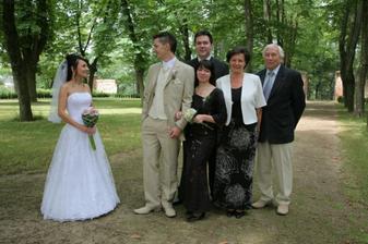 Ženichova rodinka.