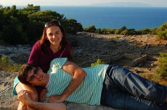 Svatební cesta na Rhodosu, září 2008