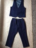 Chlapecký oblek Next 92/98. Tm.modré barvy, 92