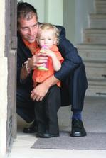 tatínek s miláčkem
