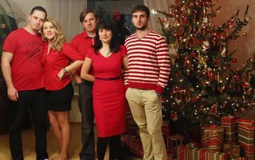 Červené Vianoce pred prerábkou :)