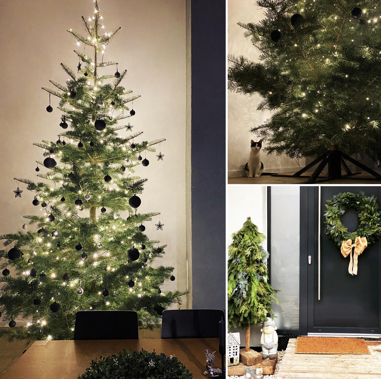 Vianoce nemusia byť len pestrofarebné  🖤🌲 - Obrázok č. 1