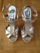 Zlate sandale, 38