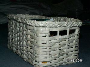 můj první košíček
