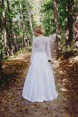 Svadobné šaty z hodvábu , 36