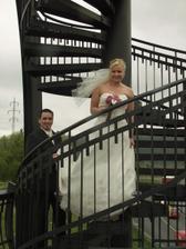 vzhůru na rozhlednu na lahovickém mostě