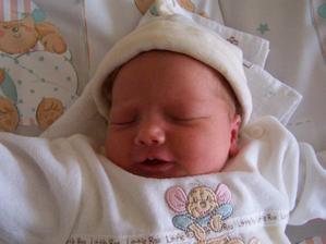 24.04.2007 to si me privezli domu z porodnice