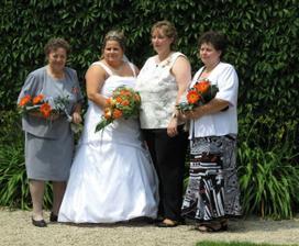 S babičkou, sestřičkou a s mamkou