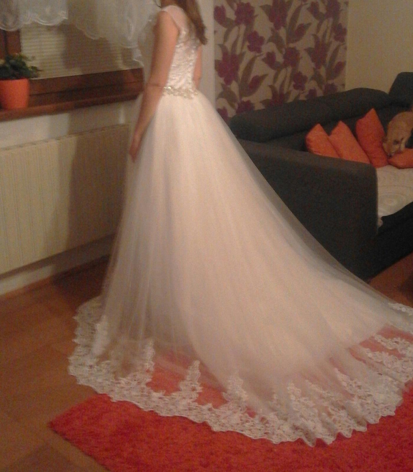cc8560145f11 Moje svadobné šaty z Ebay - - Svadobné šaty