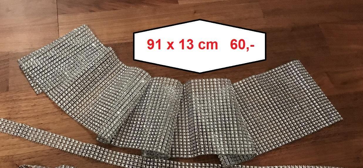 Diamantový pás 91x13 cm - Obrázek č. 1