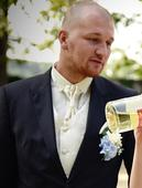 Oblek Hugo Boss vel.XL+košile+pánský svatební set , 52