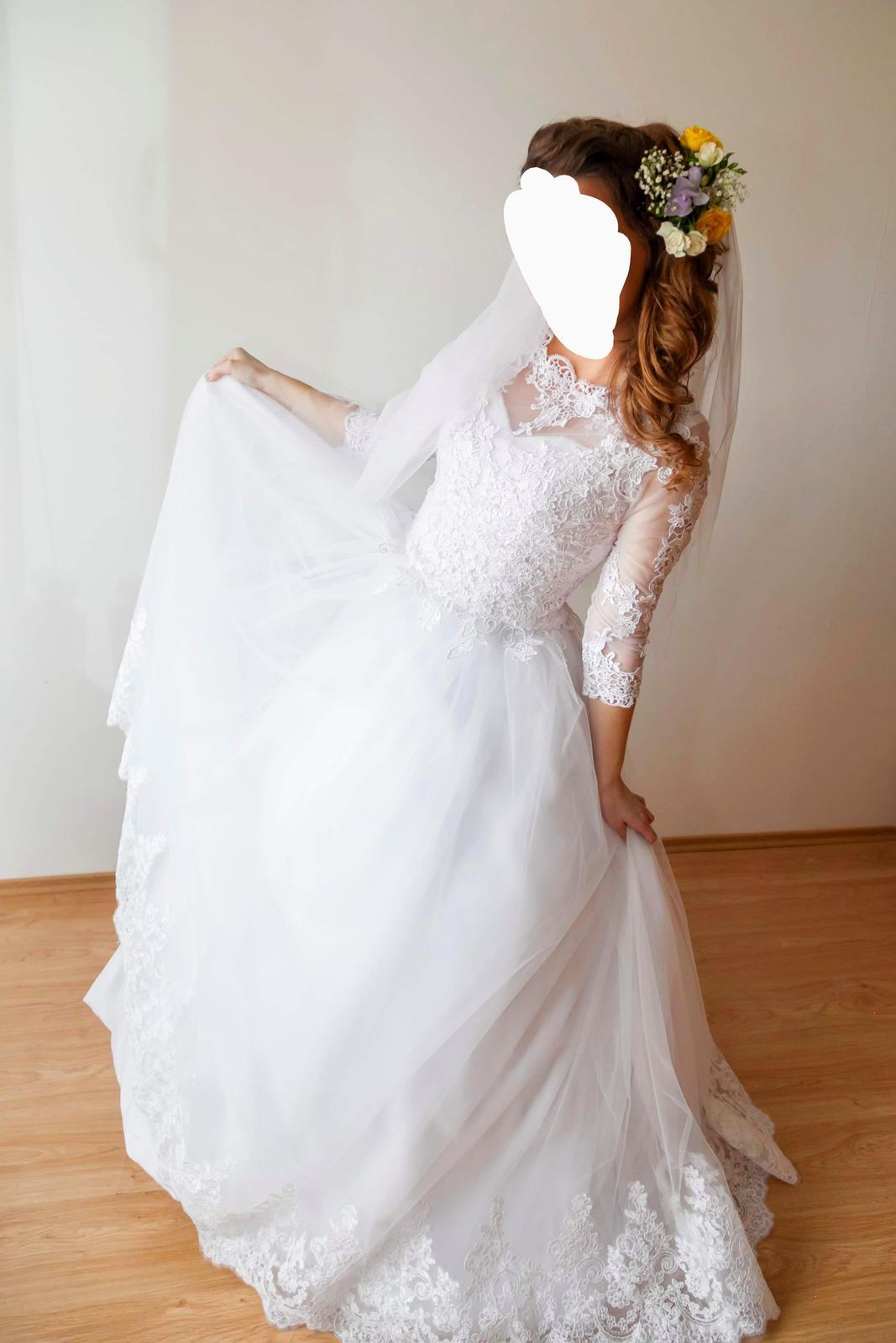 Svadobné šaty 3 v 1 - Obrázok č. 2
