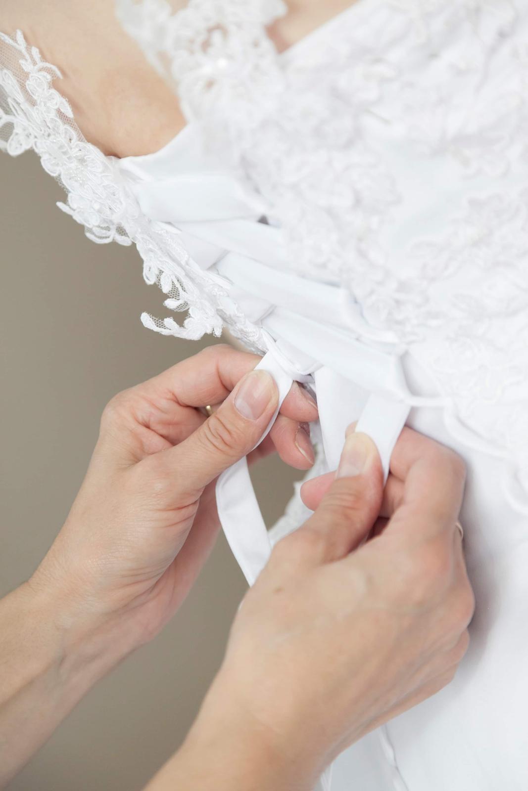 Svadobné šaty 3 v 1 - Obrázok č. 3