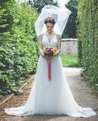 Svatební šaty - krejčovský salon Mia Bella , 36