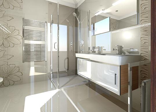 Zaujímavé inšpirácie - usporiadanie sprch.kúta a umývadiel v hornej kúpelni