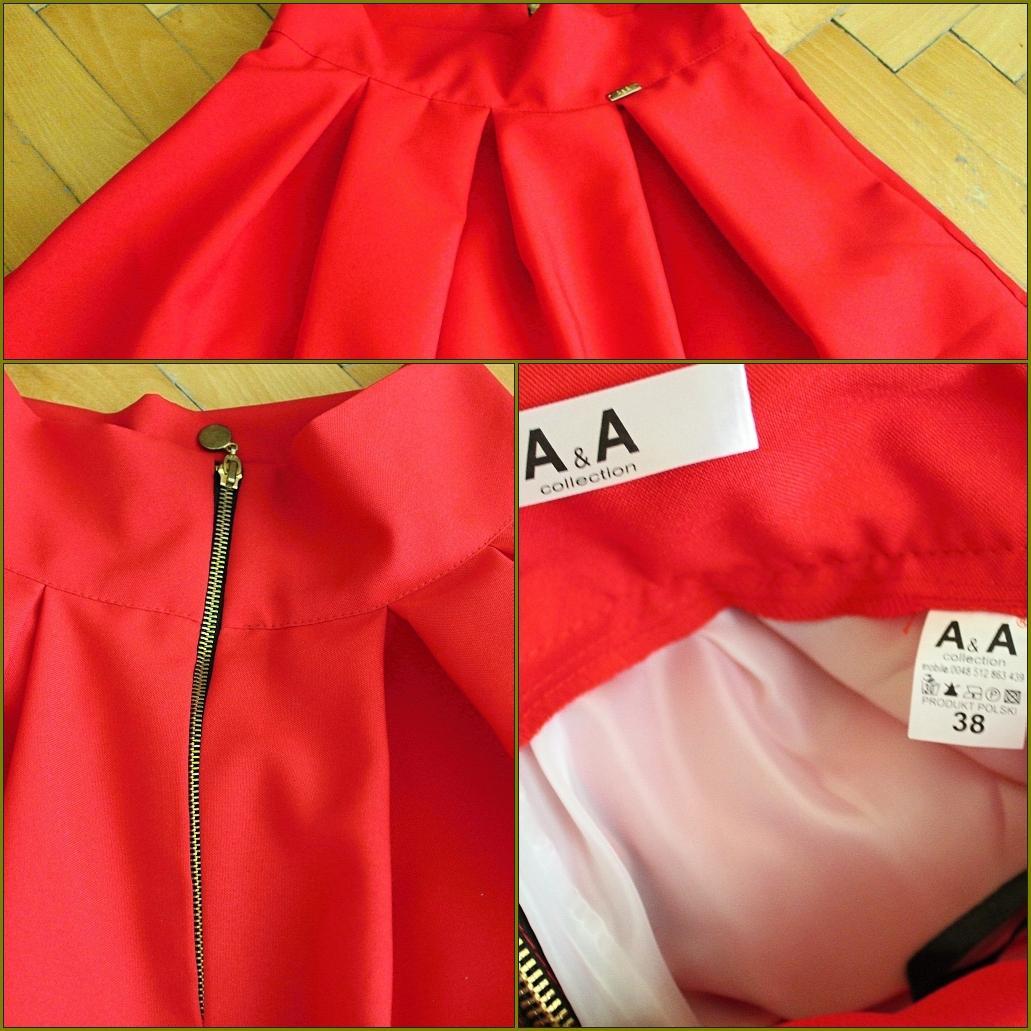 Červenú sukňu, je aj... - Obrázok č. 1
