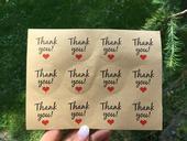 Nálepky Thank you,