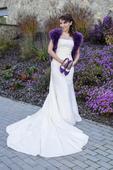Svatební šaty Alba EXCLUSIVE šampaňo-krajkové , 38