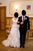 svatební šaty Fr. značky DivinaSposa, 39