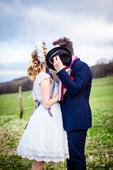 folklórne svadobné šaty, 38