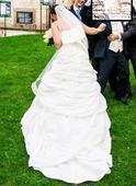 Svatební šaty 42-46, 42