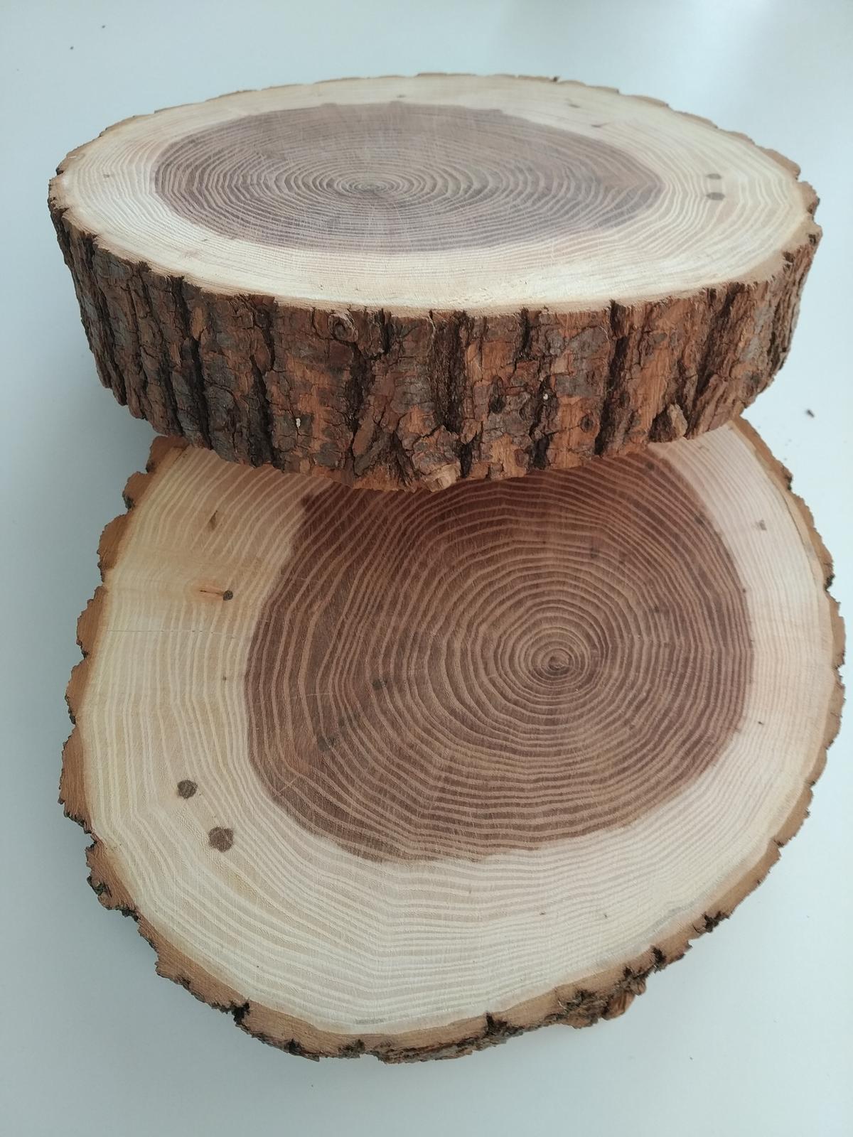 Dřevěné dekorační podložky - Obrázek č. 1