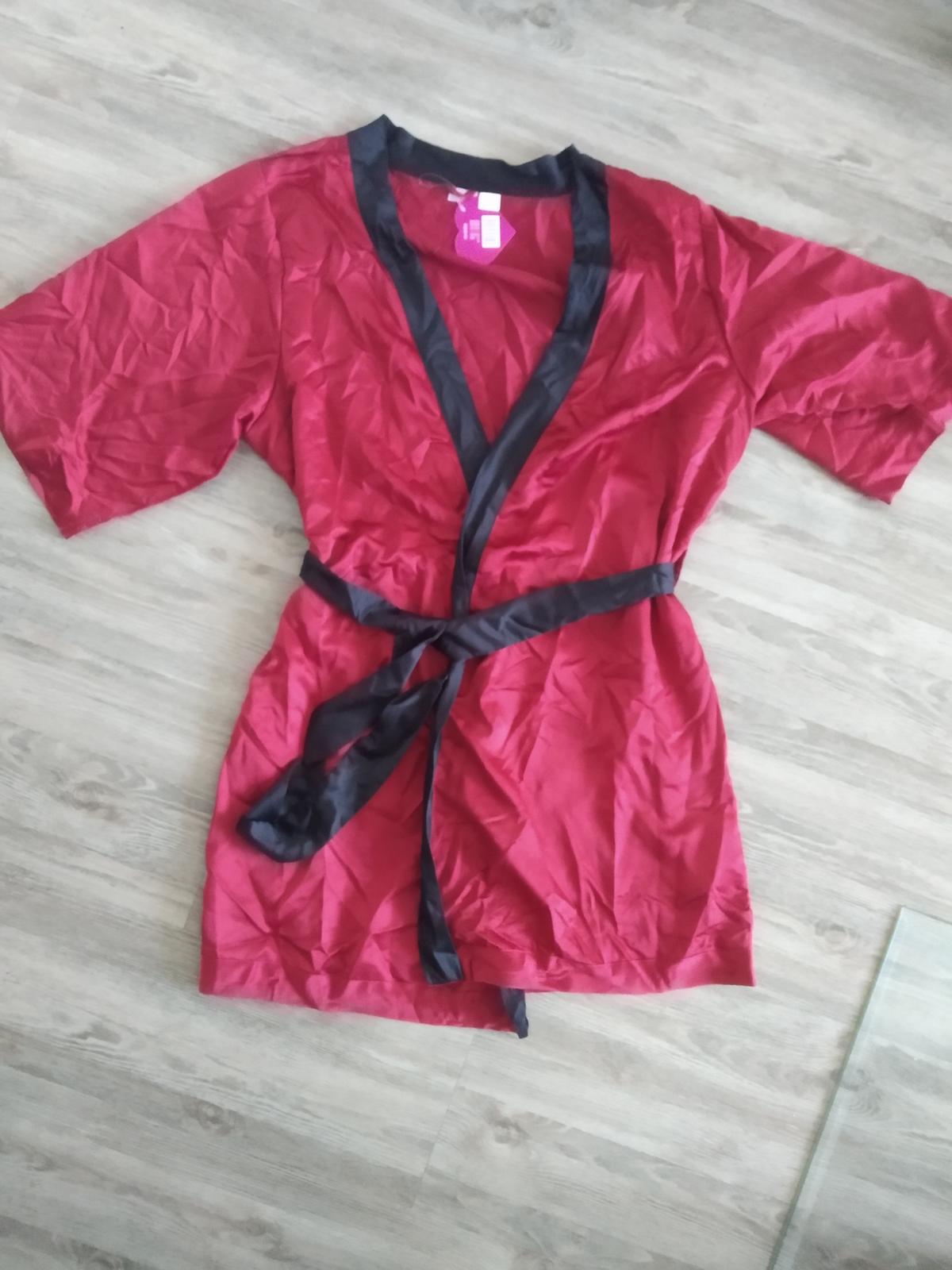 Dámské saténové kimono - Obrázek č. 2
