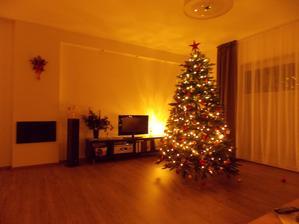 naše první Vánoce v novém domě