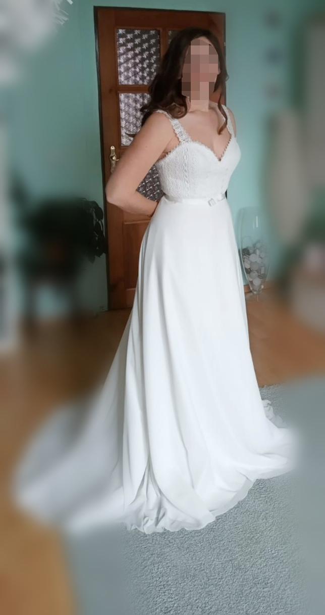 Svatební šaty Blanca vel. 36 - Obrázek č. 1