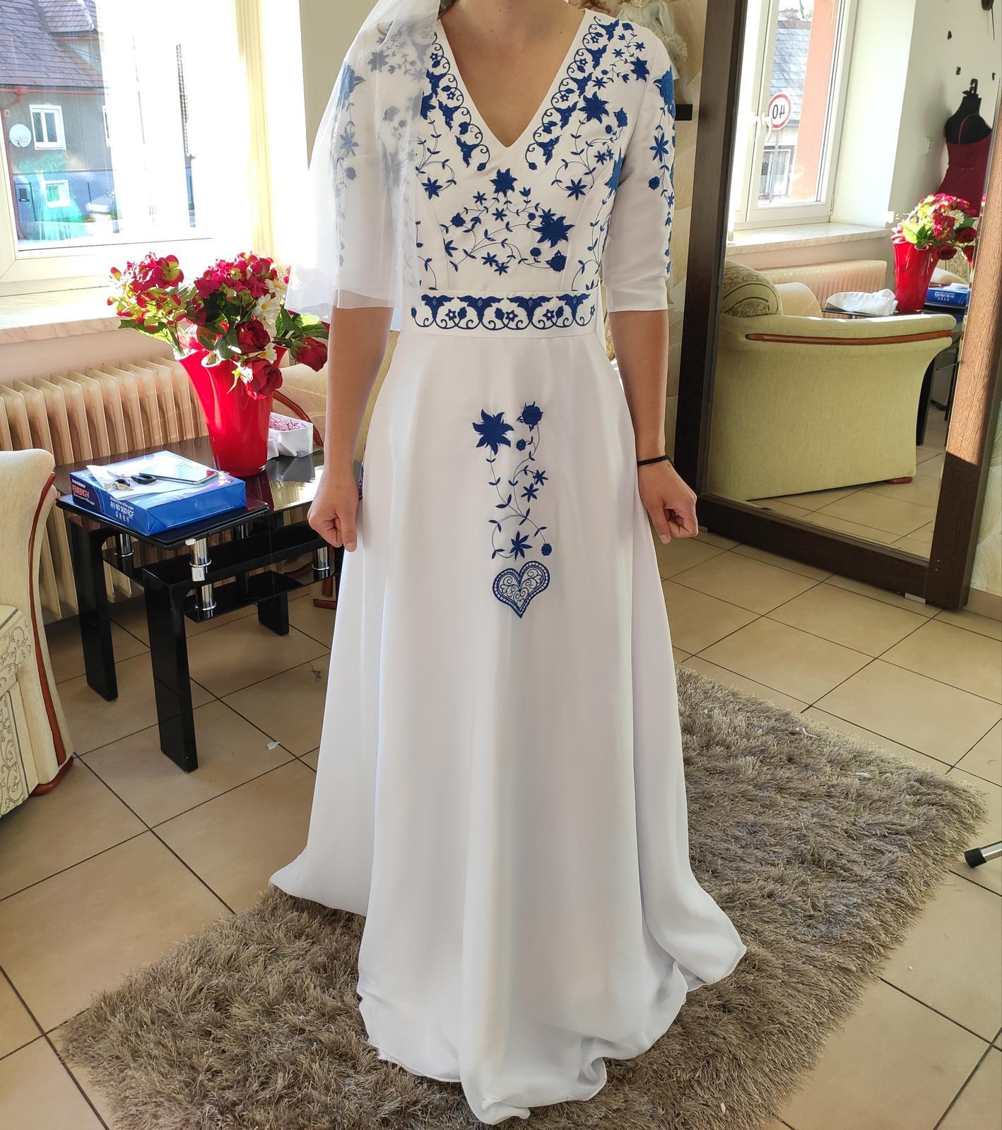 Svadobné šaty folk - Obrázok č. 3