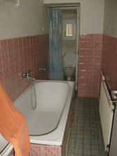 spodní koupelna....až bude vrchní tahle se předělá