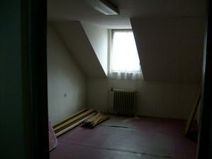 tady bude pokoj pro hosty