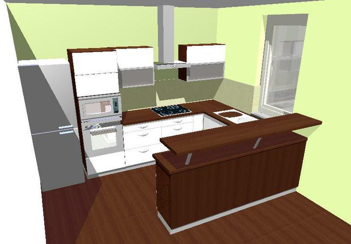 Kuchyňa - návrh pre našu kuchyňu č.1