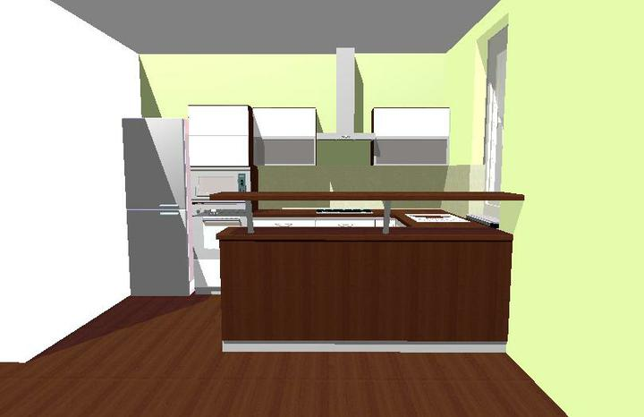 Kuchyňa - pohľad č. 2