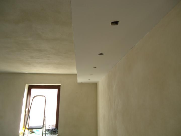 A ako staviame...teda môj drahý :-) - dokončený podhľad