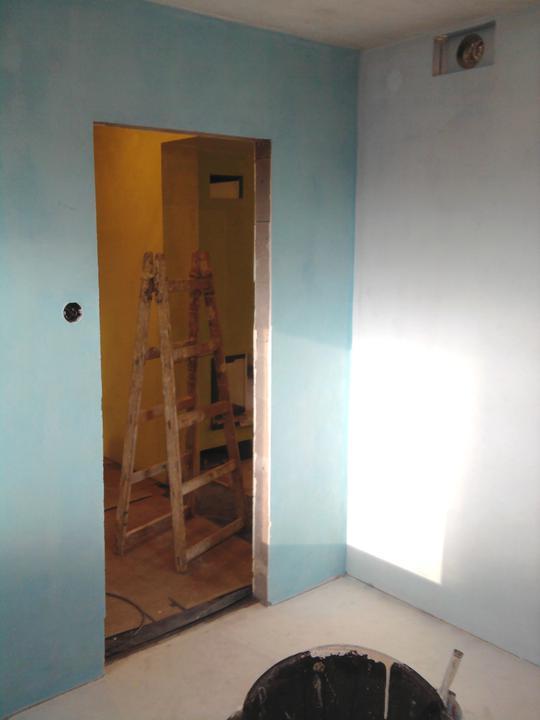 A ako staviame...teda môj drahý :-) - spálnička, neskôr hosťovská izba a pracovňa