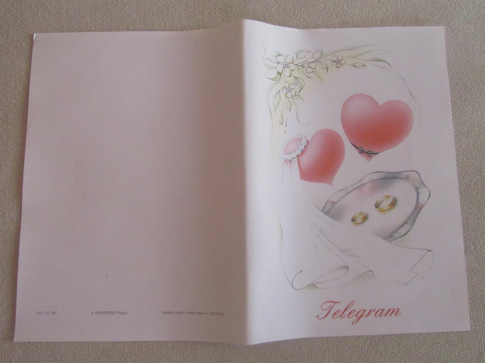Gratulacne telegramy Svadba - Obrázok č. 1